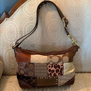 Coach purse fun design